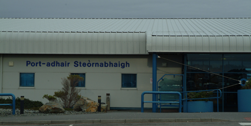 Stornoway Airport Hebrides Today