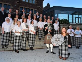 DingwallChoir2: Dingwall Gaelic Choir walked away with a clean sweep of trophies in this year's prestigious Lovat and Tullibardine Shield competition for Area Choirs in the last day of competitions at the Royal National Mòd in the Western Isles.